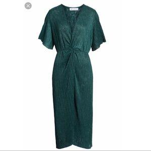 Emerald Green Midi Dress